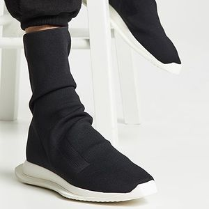 RICK OWENS DRKSHDW Runner Stretch Sock Sneakers